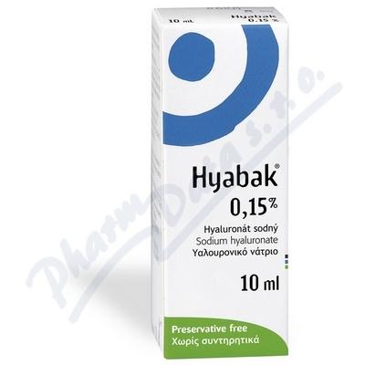Hyabak 0.15% gtt. 10ml