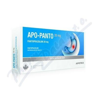 Apo-Panto 20mg por.tbl.ent. 14x20mg