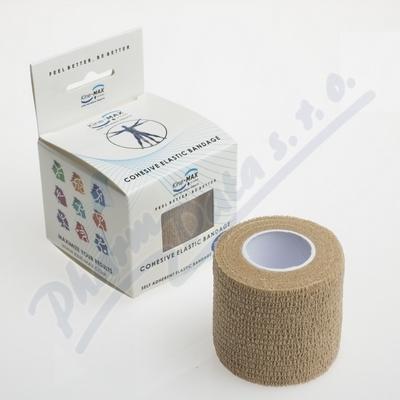 KineMAX Cohesive elast.samofix. 5cmx4.5m tělové