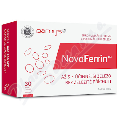 Barnys NovoFerrin cps.30