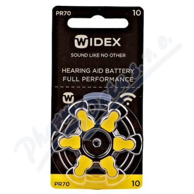 Baterie do naslouchadel Widex 10 6ks