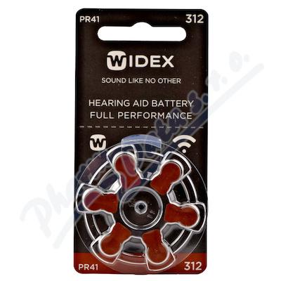 Baterie do naslouchadel Widex 312 6ks