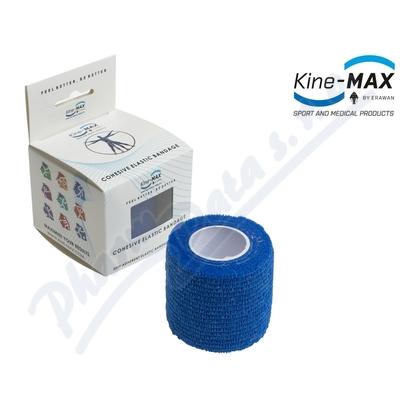 KineMAX Cohesive elast.samofix. 2.5cmx4.5m modré