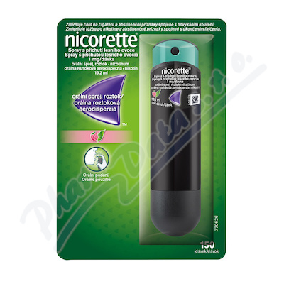 Nicorette Spray přích.les. ovoce 1mg/dáv. 1x13.2ml