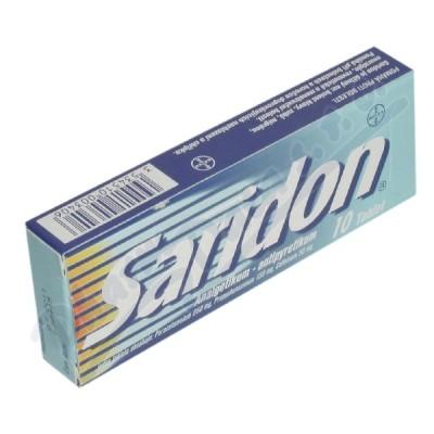 Saridon 250mg/150mg/50mg tbl.nob.10