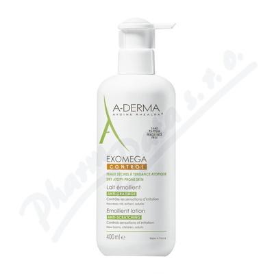 A-DERMA Exomega CONTROL Emolienční mléko 400ml