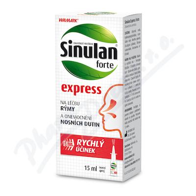 Walmark Sinulan Express Forte nosní sprej 15ml