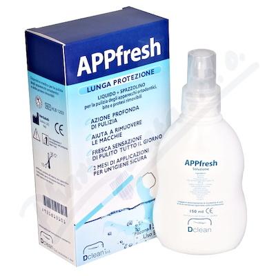 APPfresh 150ml (čisticí roztok + kartáček)