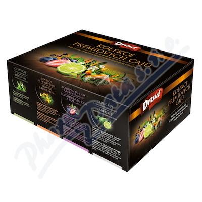 Kolekce prémiových čajů DRUID (8druhů á 5 pyramid)