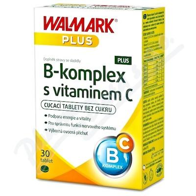 Walmark B-komplex PLUS s vitaminem C tbl.30
