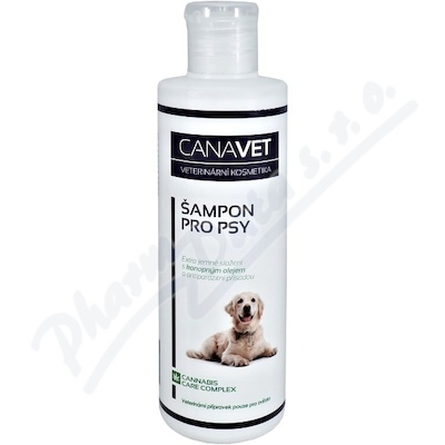 CANAVET šampon pro psy antiparazit 250ml