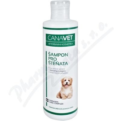 CANAVET šampon pro štěňata antiparazit 250ml