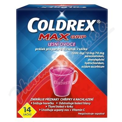 Coldrex MAXGrip Lesní ovoce por.plv.sol.14