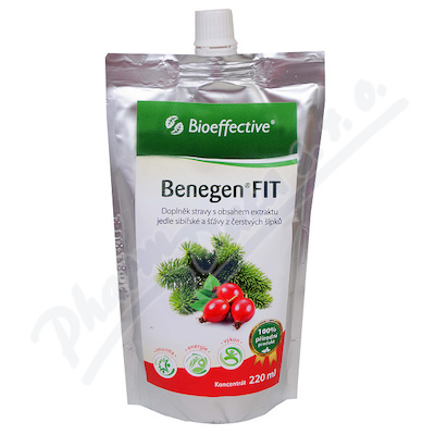 Benegen Fit šípek 220ml