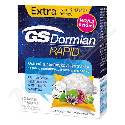 GS Dormian Rapid cps.20 akce 2019 ČR/SK