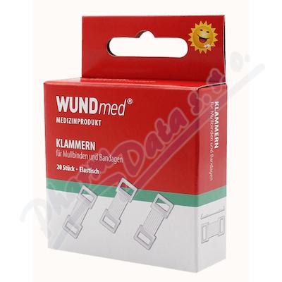 Svorky obvazové bílé WUNDmed 20 ks