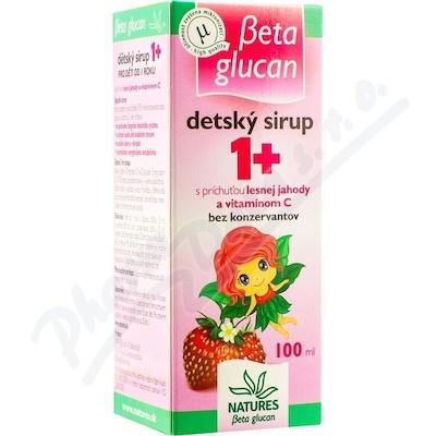Beta Glucan Dětský sirup 1+ 100ml