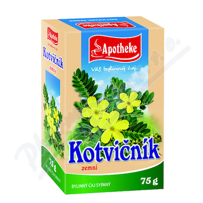 Apotheke Kotvičník zemní nať sypaný čaj 75g