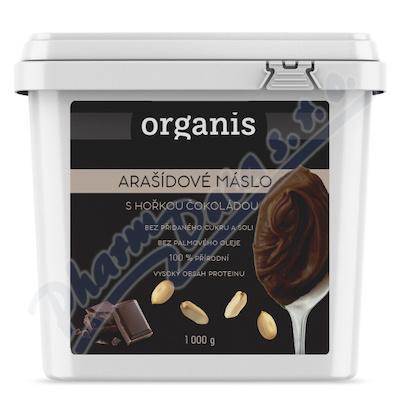 Organis Arašídové máslo s hořkou čokoládou 1000 g