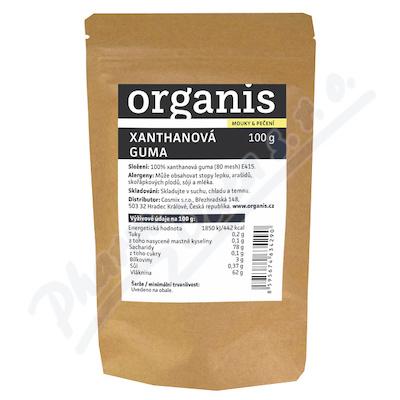 Organis Xanthanová guma 100 g