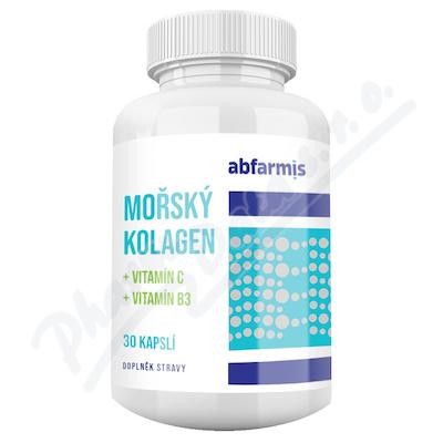 ABFARMIS Mořský kolagen + vit. C + vit B3 cps.30