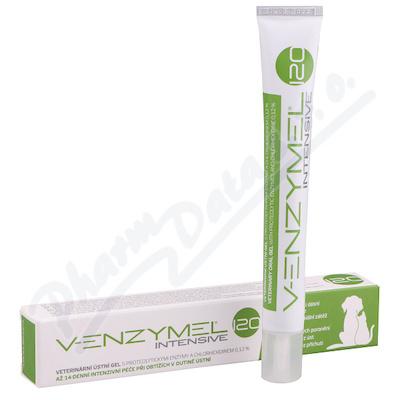 Venzymel Intensive 120 veterinární ústní gel 30ml