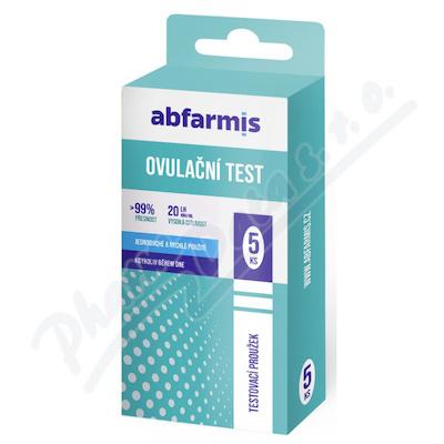 Abfarmis Ovulační test 20mIU/ml 5ks