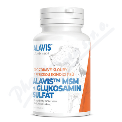 Alavis MSM+Glukosamin sulfát tbl.60