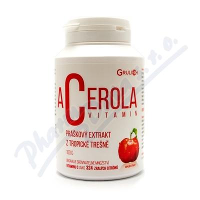 Acerola vitamin standardizovaný prášek 100g