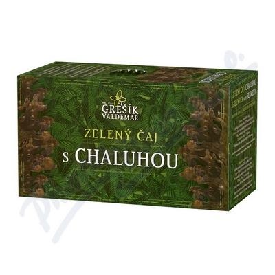 Grešík Zel. čaj s chaluhou n.s. 20x1.5 g přebal