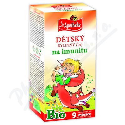 Apotheke Dětský čaj BIO na imunitu 20x1.5g
