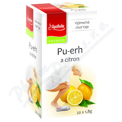 Apotheke Pu-erh a citron čaj 20x1.8g