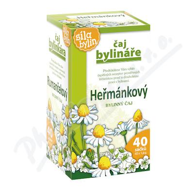 Čaj Bylináře Heřmánkový 40x1.6g